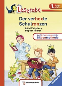 Leserabe mit Mildenberger Silbenmethode: Der verhexte Schulranzen - 1