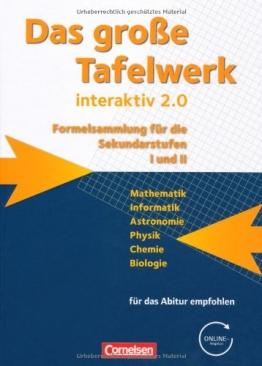 Das große Tafelwerk interaktiv 2.0 - Allgemeine Ausgabe (außer Niedersachsen und Bayern): Das große Tafelwerk interaktiv 2.0 - 1