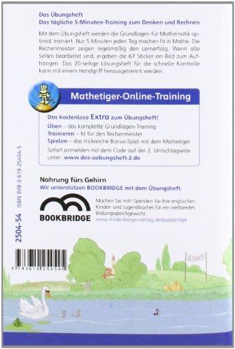 Das Übungsheft Mathematik 2: Denk- und Rechentraining, Klasse 2 - 2