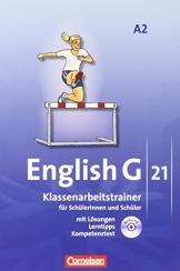 English G 21 - Ausgabe A: Band 2: 6. Schuljahr - Klassenarbeitstrainer mit Lösungen und CD - 1