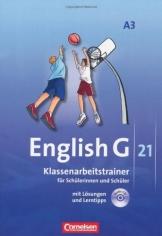 English G 21 - Ausgabe A: Band 3: 7. Schuljahr - Klassenarbeitstrainer mit Lösungen und CD - 1