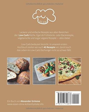 Essen ohne Kohlenhydrate: Gemischte Low-Carb Rezepte - 2
