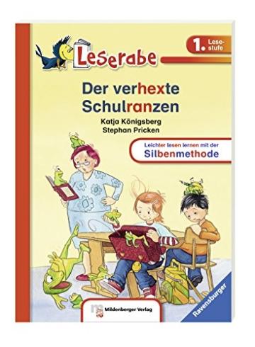 Leserabe mit Mildenberger Silbenmethode: Der verhexte Schulranzen - 2