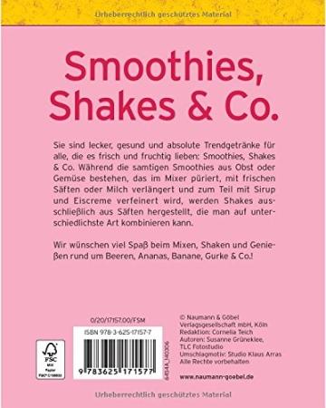 Smoothies, Shakes & Co. (Minikochbuch): Fruchtig, cremig und voller Vitamine (Minikochbuch Relaunch) - 2
