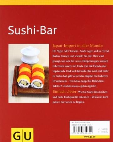 Sushi-Bar: Japanischer Genuss häppchenweise: Sushi, Suppen, Salate und Spießchen - 2