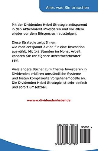 Der Weg zur sicheren Investition in Aktien: Dividenden Hebel Strategie -