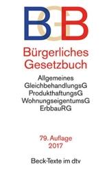 Bürgerliches Gesetzbuch BGB: mit Allgemeinem Gleichbehandlungsgesetz, BeurkundungsG, BGB-Informationspflichten-Verordnung, Einführungsgesetz -