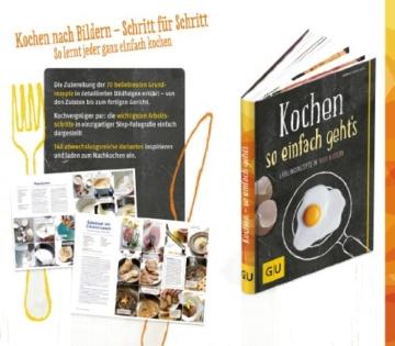 Kochen - so einfach geht's: Das Grundkochbuch in 1000 Bildern (GU Kochen & Verwöhnen Grundkochbücher) - 3