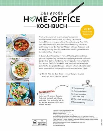 Das große Home-Office-Kochbuch: Gut essen trotz Arbeitsstress: 77 einfache Rezepte für jeden Geschmack - 3