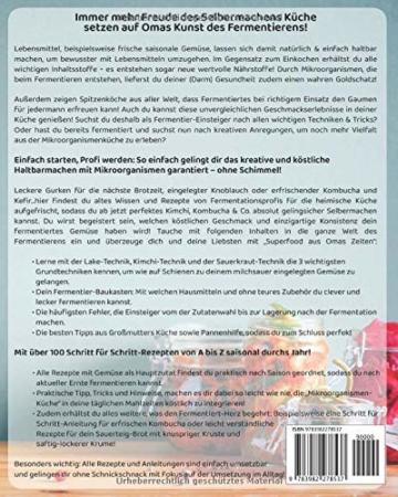 Fermentieren – Superfood aus Omas Zeiten: Lebensmittel saisonal, natürlich & kreativ haltbar machen! Techniken, Tricks & 111 leckere Rezepte von einfach bis exotisch für Kimchi, Kombucha, Kefir & Co. - 2
